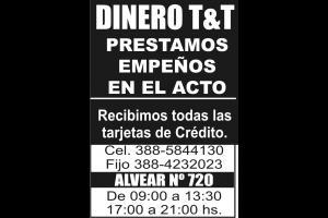 Dinero - Oro - Plata Sin datos  DINERO T&T